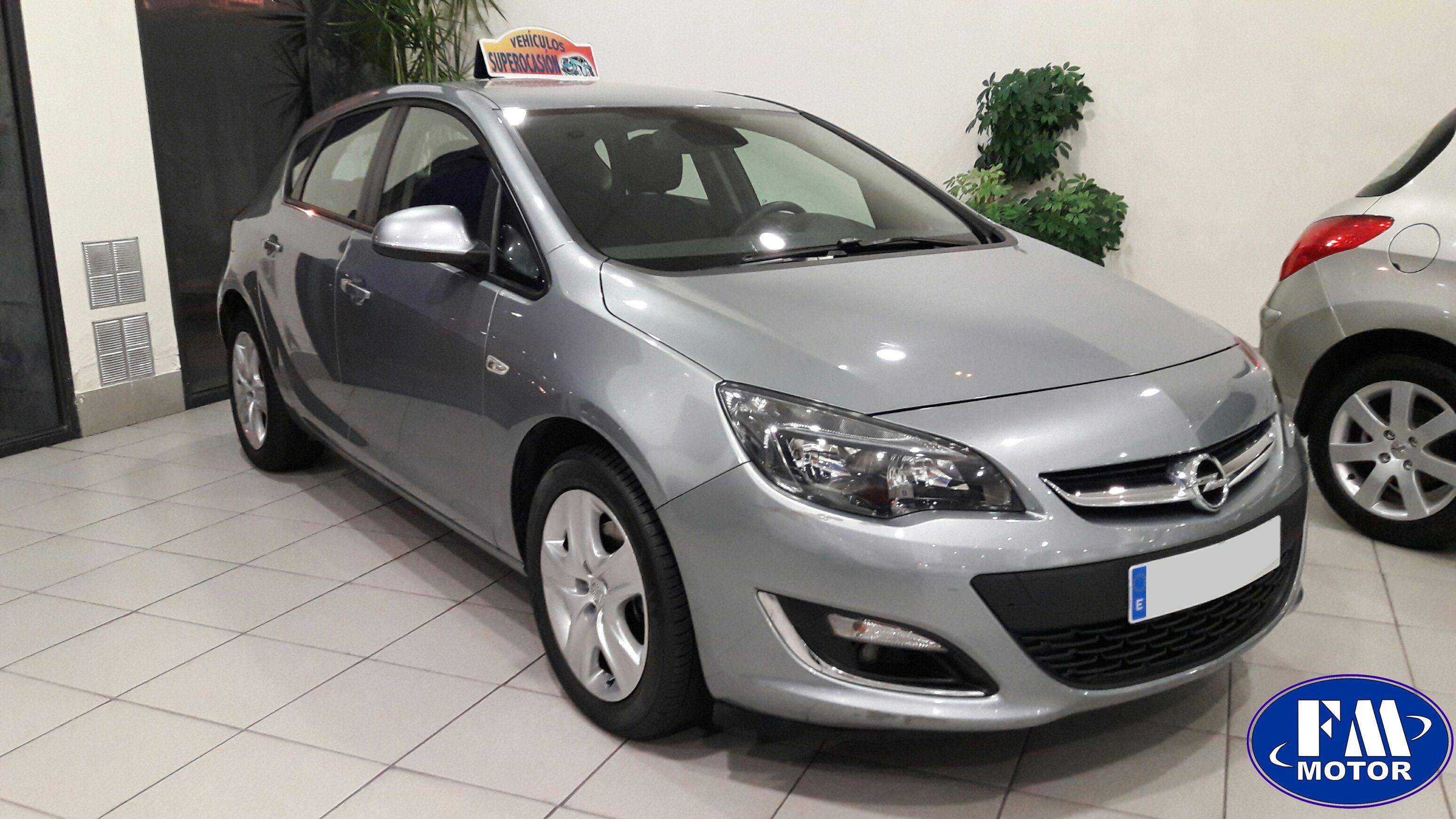 Opel astra 1 7 cdti 110 cv 6 vel 5 puertas fm motor bilbao - Opel astra 5 puertas ...