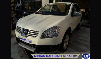 Nissan Qashqai blanco 2009 frontal 2