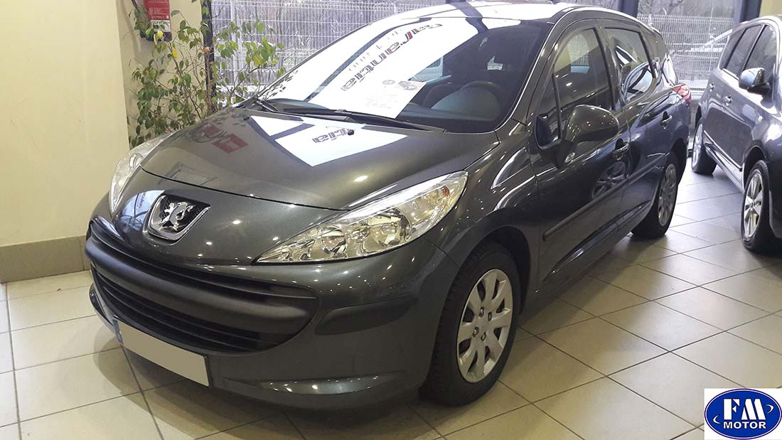 peugeot familiar 207 sw 1 6 hdi 90 cv 5 puertas fm motor. Black Bedroom Furniture Sets. Home Design Ideas