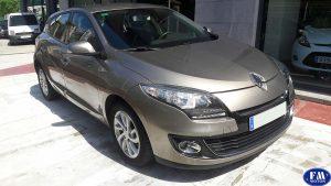 Renault megane 2013 plateado