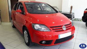 Volkswagen Golf Plus rojo 2006