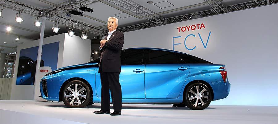 Presentacion Toyota Mirai