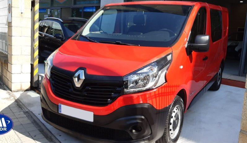 Renault Trafic Combi8 1.6DCI lleno